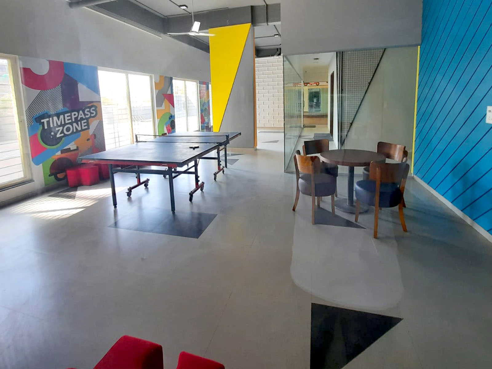 Hostel with game room